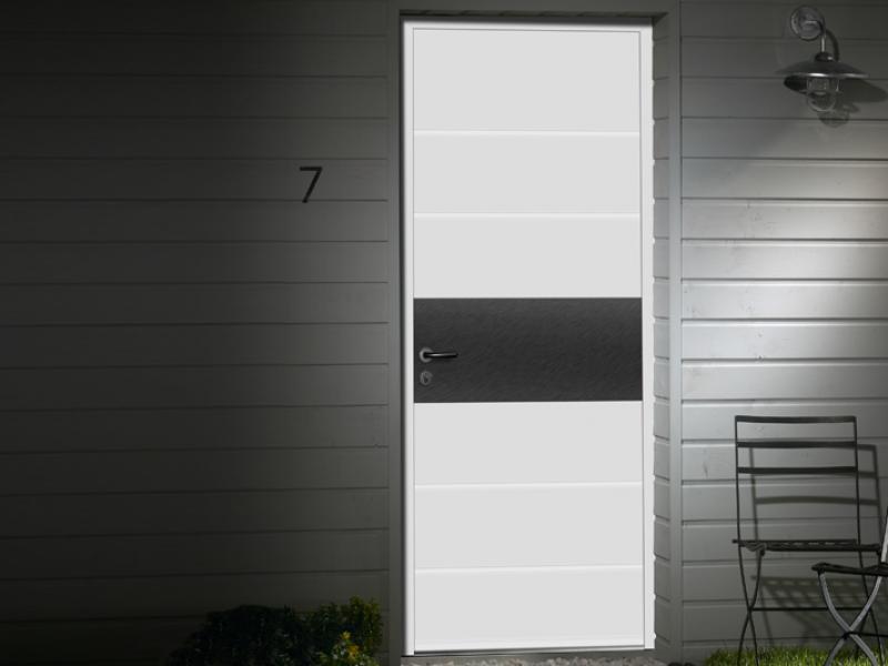 Porte d'entrée mixte